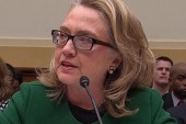 Clinton stands her ground at Benghazi...