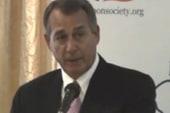 Boehner blames president for GOP woes