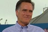 Romney's lukewarm return to Washington
