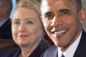 Obama, Clinton participate in rare joint...
