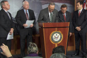 Bipartisan group announces immigration plan