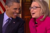 Hillary and Barack as BFF's?