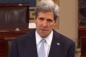 Kerry steps away from Senate, Cowan steps in