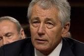 Hagel, McCain feud erupts in Senate...