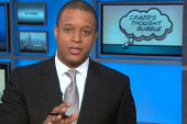 Craig Melvin toasts longevity