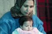 Activist Mia Farrow visits Syrian refugees