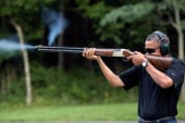 Media obsess over Obama skeet shooting photo