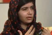 Pakistani activist Malala Yousafzai speaks