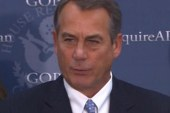 Boehner blocks military family benefits...