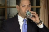 Rubio's swig and a miss