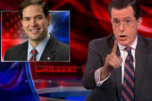 Late night comedy goes after Marco Rubio's...