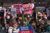 Thousands gather for DC climate rally