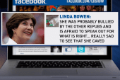 Former First Lady wants her words cut from ad