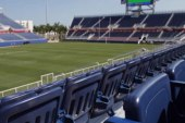 College stadium named after prison company