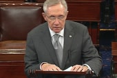 Reid defends Senate's action on the sequester