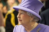 Queen hospitalized with stomach ailment