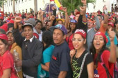 Hundreds crowd streets for Chavez funeral