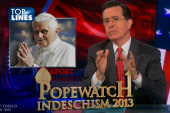 Top Lines: Popewatch, Paul Ryan, Bill O...