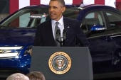 Obama prods Congress on energy
