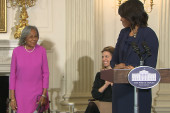 Michelle Obama pays tribute to Rachel...