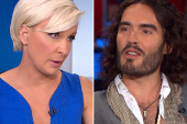 Watch Russell Brand flirt with Mika on ...