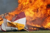 Two dead in Dayton, Ohio air show plane crash
