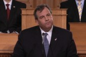 Reading into Christie's speech