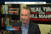 Bill Maher plays Hardball