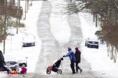 Rare arctic blast shocks Deep South