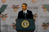 Obama talks end of Afghanistan at West Point