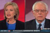 Hillary Clinton attacks Sanders through...