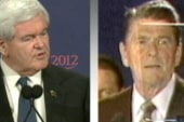Ron Reagan: 'Gingrich likes to speak for...