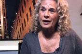 Carole King lobbies for background checks