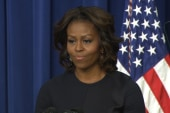 Michelle Obama shares her college struggles