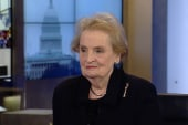 Albright: 'America is not meddling'