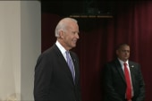 Biden brings his comedy routine to Harvard