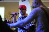 Sam Hunt performs at Spotify