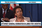 GOP stall on Loretta Lynch vote unprecedented