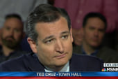 Why did Cruz vote against 9/11 relief funds?