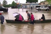 Houston hit with historic flooding