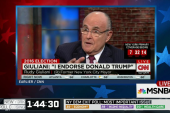 """Giuliani: """"Trump is clearly the best choice"""""""