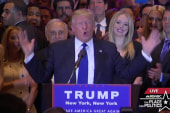 Trump addresses supporters after NY...