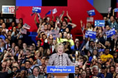 Hillary Clinton eyes general election