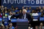 Sanders campaign refocuses after NY defeat