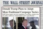 Trump tweaks tone; still hammers 'lyin Ted'
