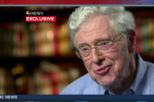 Charles Koch not ruling out Hillary Clinton