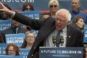 Sanders, Clinton Battle Ahead of MSNBC...