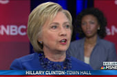Clinton promises 50% women in Cabinet