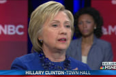Clinton: 'We need to restore voting rights'