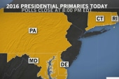 It's Primary Day in five Northeastern states